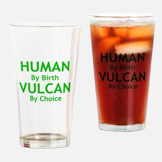 Cute Human birth Drinking Glass