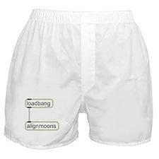 Cute Moons Boxer Shorts