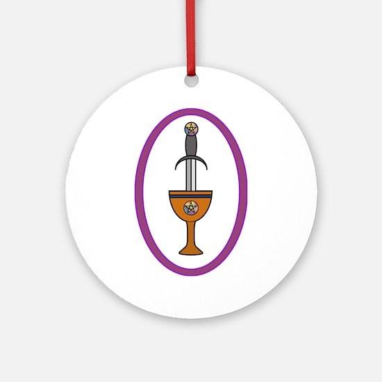 Great Rite Ornament (Round)