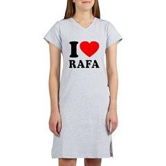I (Heart) Rafa Women's Nightshirt