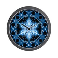Snowflake 23 Wall Clock