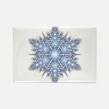 Snowflake 23 Rectangle Magnet