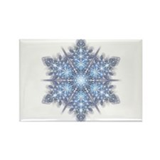 Snowflake 23 Rectangle Magnet (100 pack)