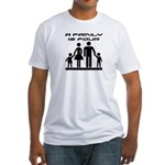 Terra Nova Family is Four Fitted T-Shirt