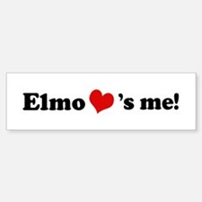 Elmo loves me Bumper Bumper Bumper Sticker