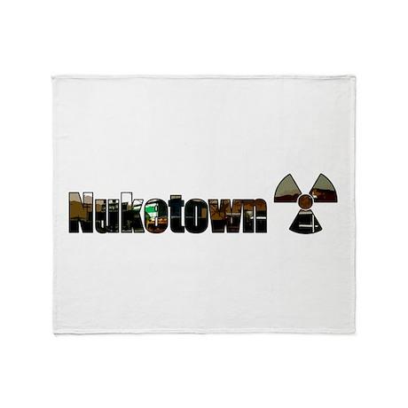 Nuketown Throw Blanket