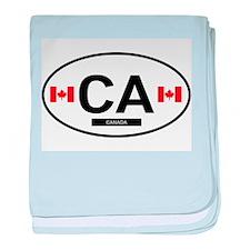 Canada 2F baby blanket
