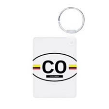 Colombia 2F Keychains