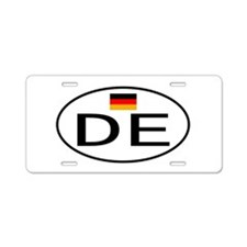 Germany 2F Aluminum License Plate