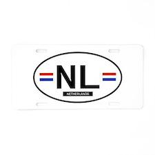 Unique Nl Aluminum License Plate