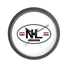 Cute Netherlands Wall Clock