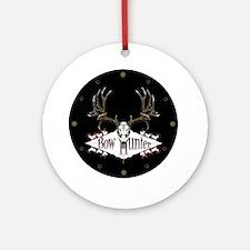 Deer skull Ornament (Round)