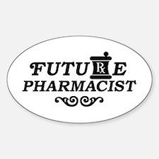 Future Pharmacist Sticker (Oval)