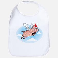 Merry Pigmas! Bib