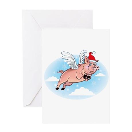 Merry Pigmas! Greeting Card
