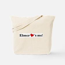 Elmer loves me Tote Bag