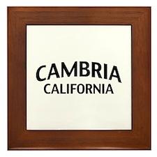 Cambria California Framed Tile