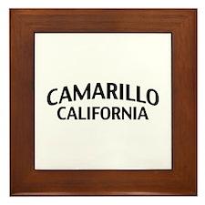 Camarillo California Framed Tile