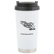 Alpha Male Stainless Steel Travel Mug