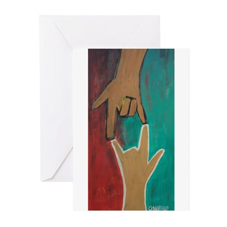 I Love You (ASL) Greeting Cards (Pk of 20)