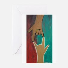 I Love You (ASL) Greeting Cards (Pk of 10)