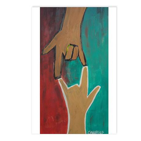 I Love You (ASL) Postcards (Package of 8)