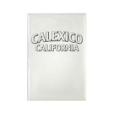 Calexico California Rectangle Magnet