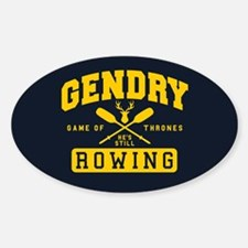 GOT Gendry Rowing Team Decal