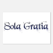 Sola Gratia Postcards (Package of 8)