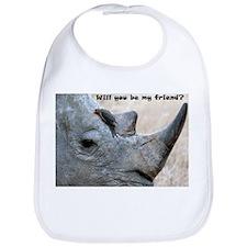 Will You Be My Friend? Bib