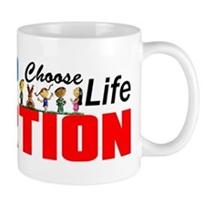 """Adoption: Choose Life"" Mug"