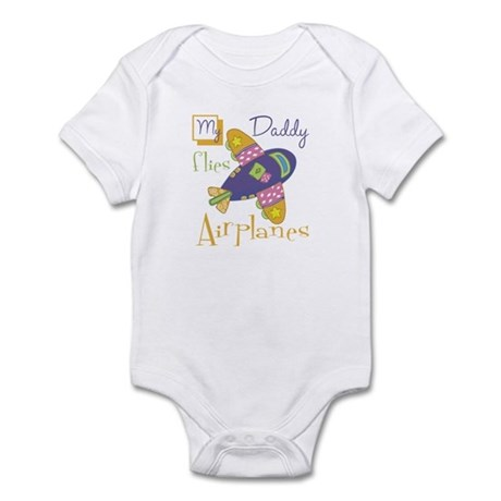 My Daddy Flies Airplanes Infant Bodysuit