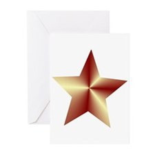 Bronze Star Greeting Cards (Pk of 10)
