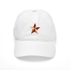 Bronze Star Baseball Baseball Cap