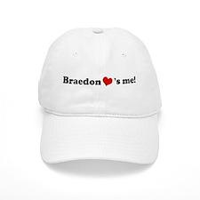 Braedon loves me Baseball Cap