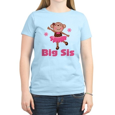 Big Sister Monkey Women's Light T-Shirt