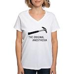 The Original Anesthesia Women's V-Neck T-Shirt