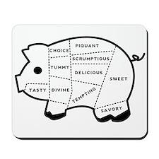 Pig Eater's Chart Mousepad