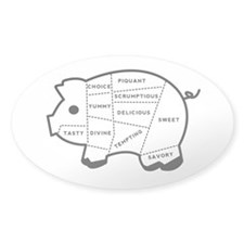 Pig Eater's Chart Decal