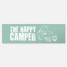 The Happy Camper Bumper Bumper Sticker