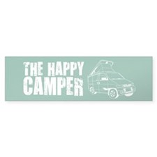 The Happy Camper Bumper Stickers