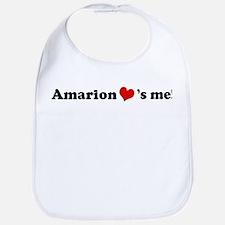 Amarion loves me Bib