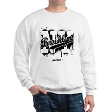 Brooklyn NY Graffiti Spray Sweatshirt