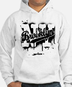Brooklyn NY Graffiti Spray Hoodie