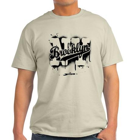Brooklyn NY Graffiti Spray Light T-Shirt
