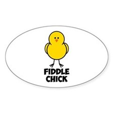 Fiddle Chick Decal