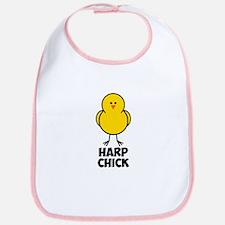 Harp Chick Bib