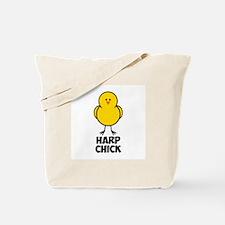 Harp Chick Tote Bag