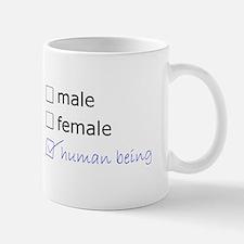 Genderqueer/Trans Human Being Mug