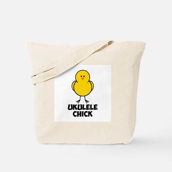 Ukulele Chick Tote Bag